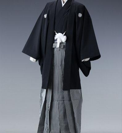 紋付袴No436